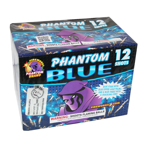 Phantom Blue (All Blue Gender Reveal Fireworks)