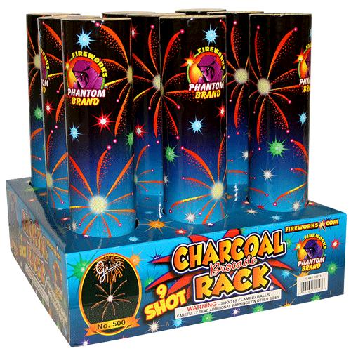 #500 Charcoal Palm Rack