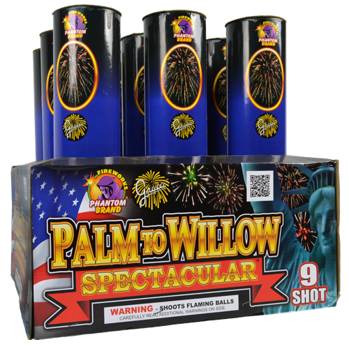 Grucci Palm To Willow Spectacular