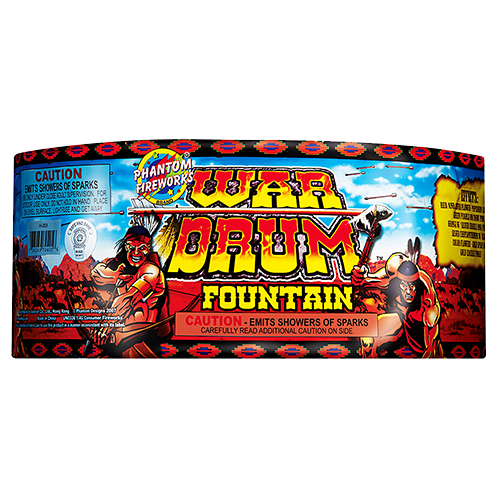 War Drum Fountain