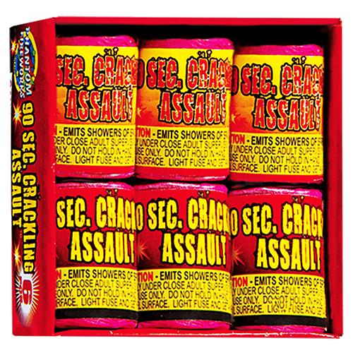 90 Crackling Assault