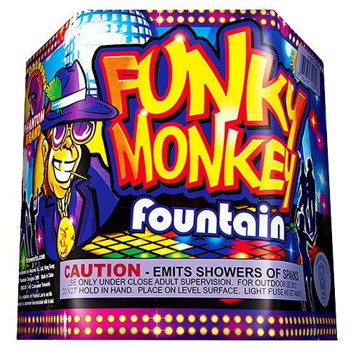 Funky Monkey Fountain