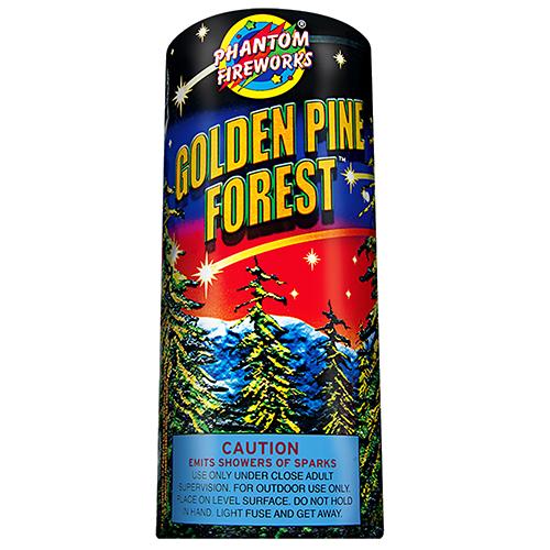 Golden Pine Forest