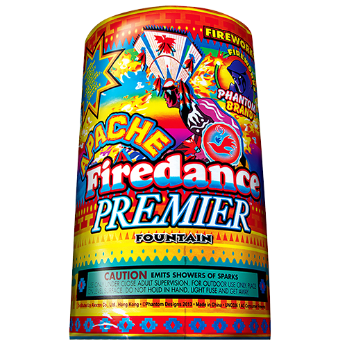 Apache Firedance Premier fountain
