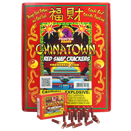 CHINATOWN RED SNAP CRACKER-20