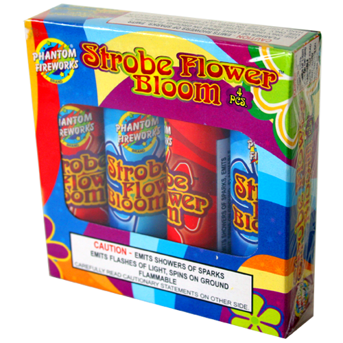 Strobe Bloom Flower 4 piece box