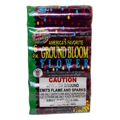 Ground Bloom 6 piece pack