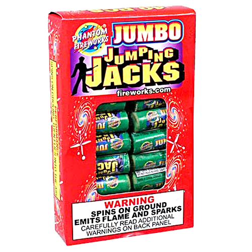 Jumbo Jumpin' Jacks, 40 Ct.