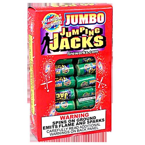 Jumbo Jumpin' Jacks, 40 Ct.