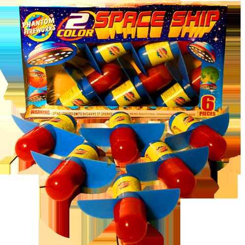 2 Color Space Ship