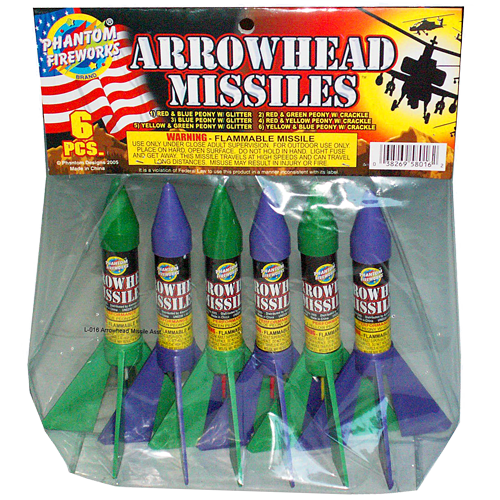 Arrowhead Missile Pack
