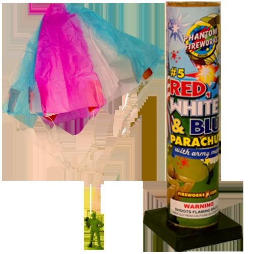 #5 Red, White & Blue Parachute