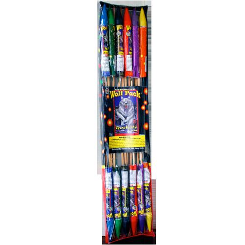 8 Oz Wolfpack Asst. Rockets