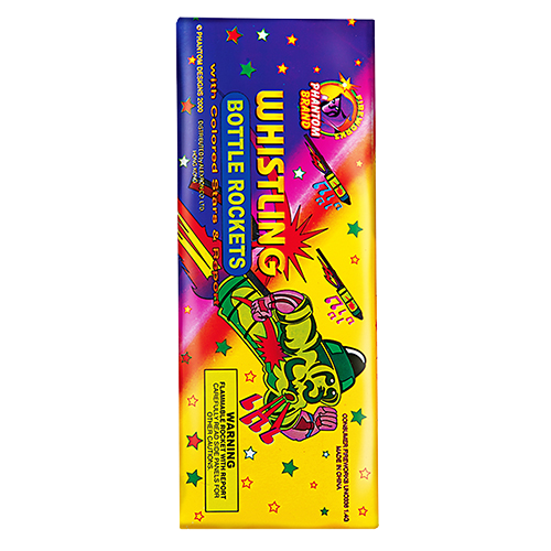Whistling Bottle Rockets