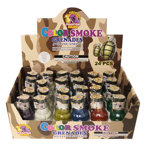 Color Smoke Grenades