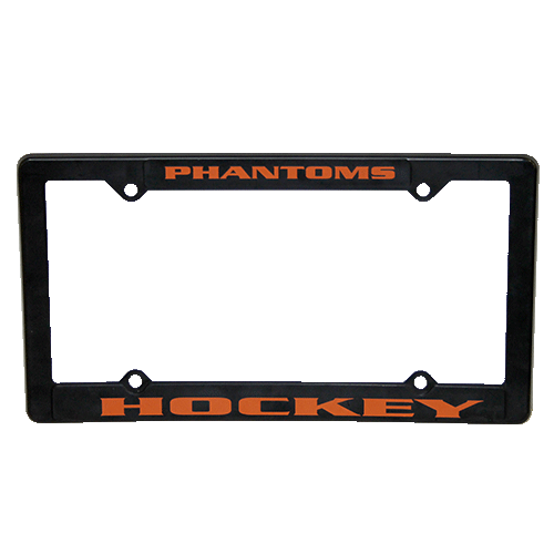 Phantoms License Plate Holder