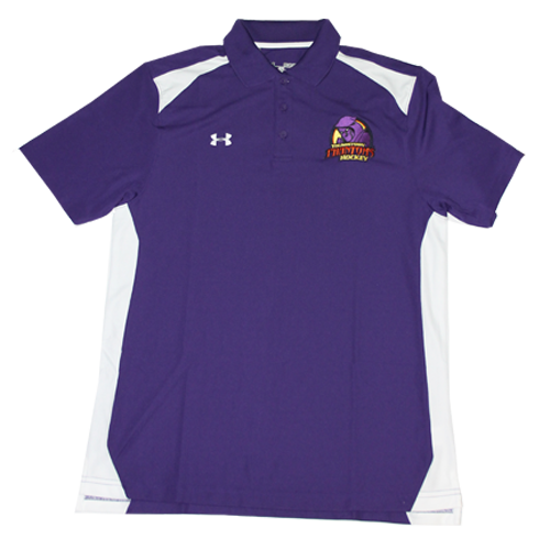 Under Armour Purple Polo