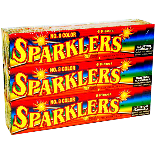#8 COLOR SPARKLER (NEW)