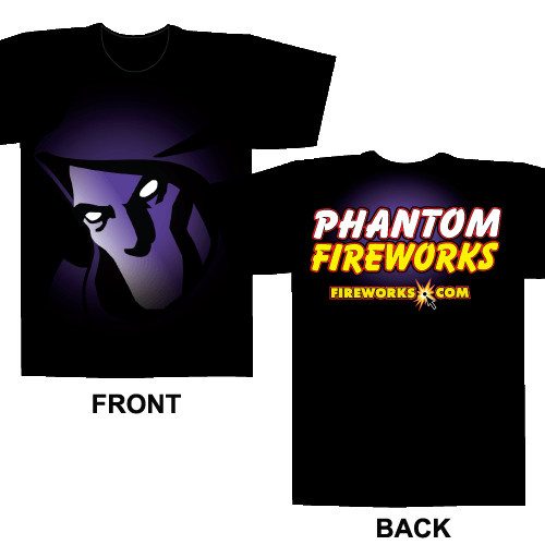 Phantom Face – Black T-shirt