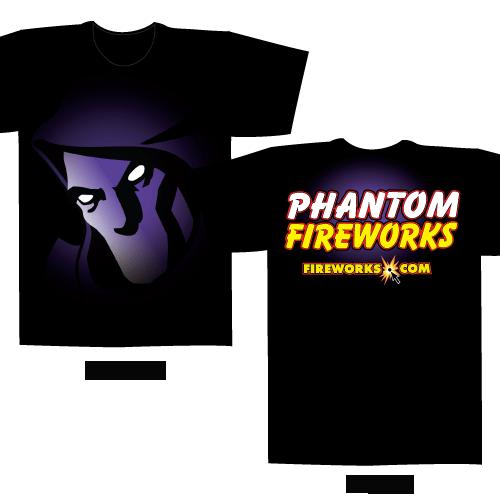 Phantom Face – Black T-shirt