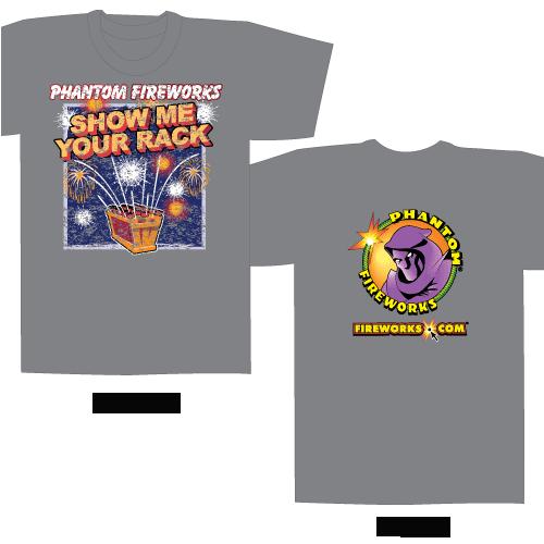Show me your Rack – Gray T-shirt
