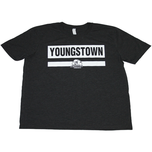 Phantoms Youngstown Men's Black T-Shirt
