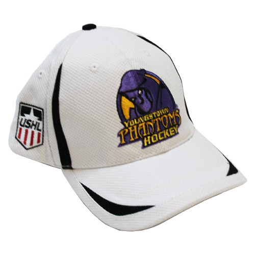 Youngstown Phantoms White Cap