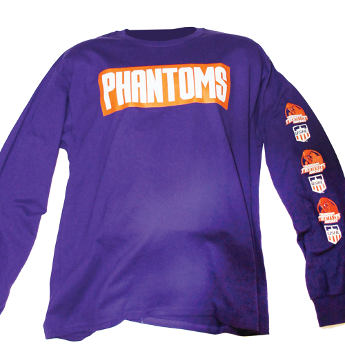 Phantoms Long Sleeve Purple