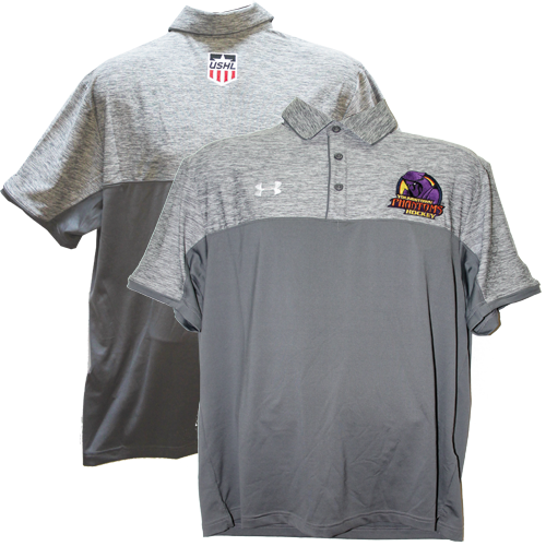 Under Armour Polo Mens Grey