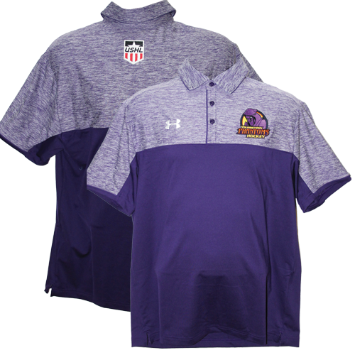 Under Armour Polo Mens Purple