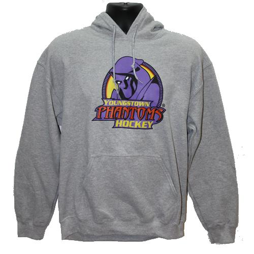 Phantoms Hoodie - Grey