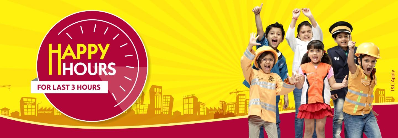 Happy hours KidZania Mumbai