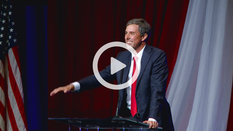Watch Beto's speech