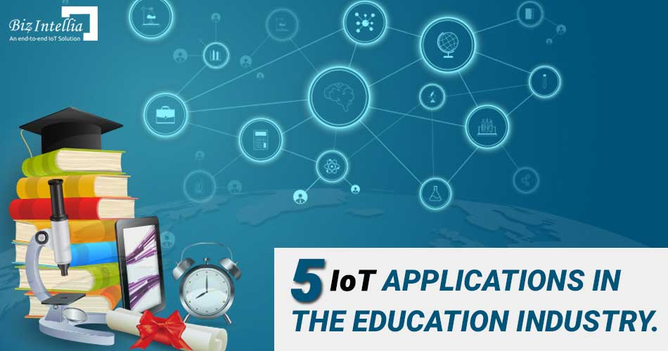 applications of iot in education