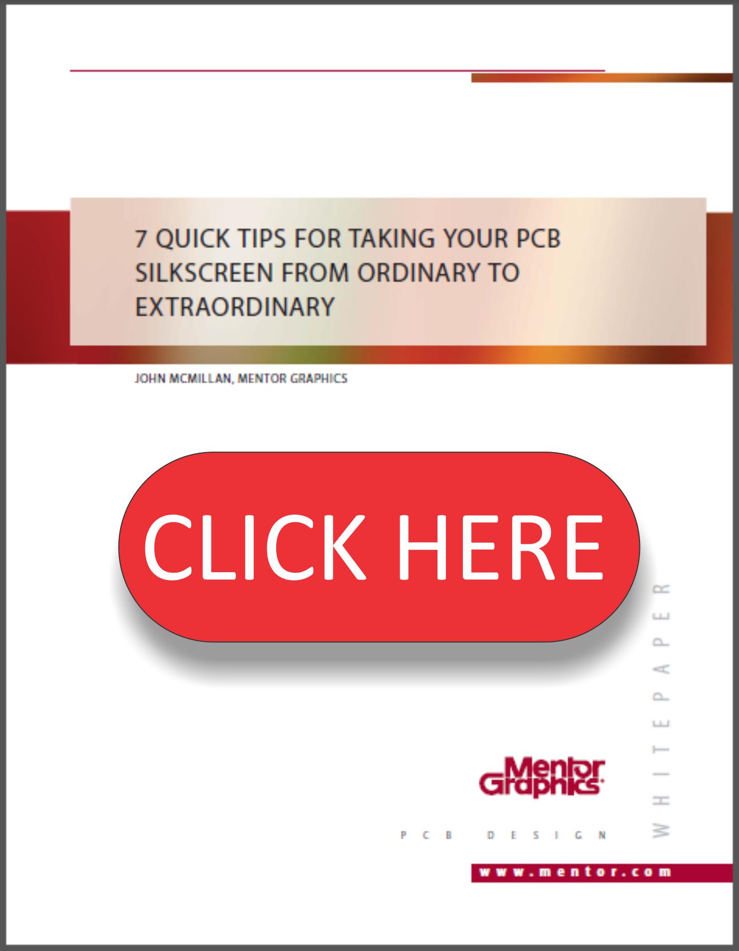 7 Pcb Silkscreen Quick Tips White Paper Pads Desktop Design Electronic Circuit Wp Click