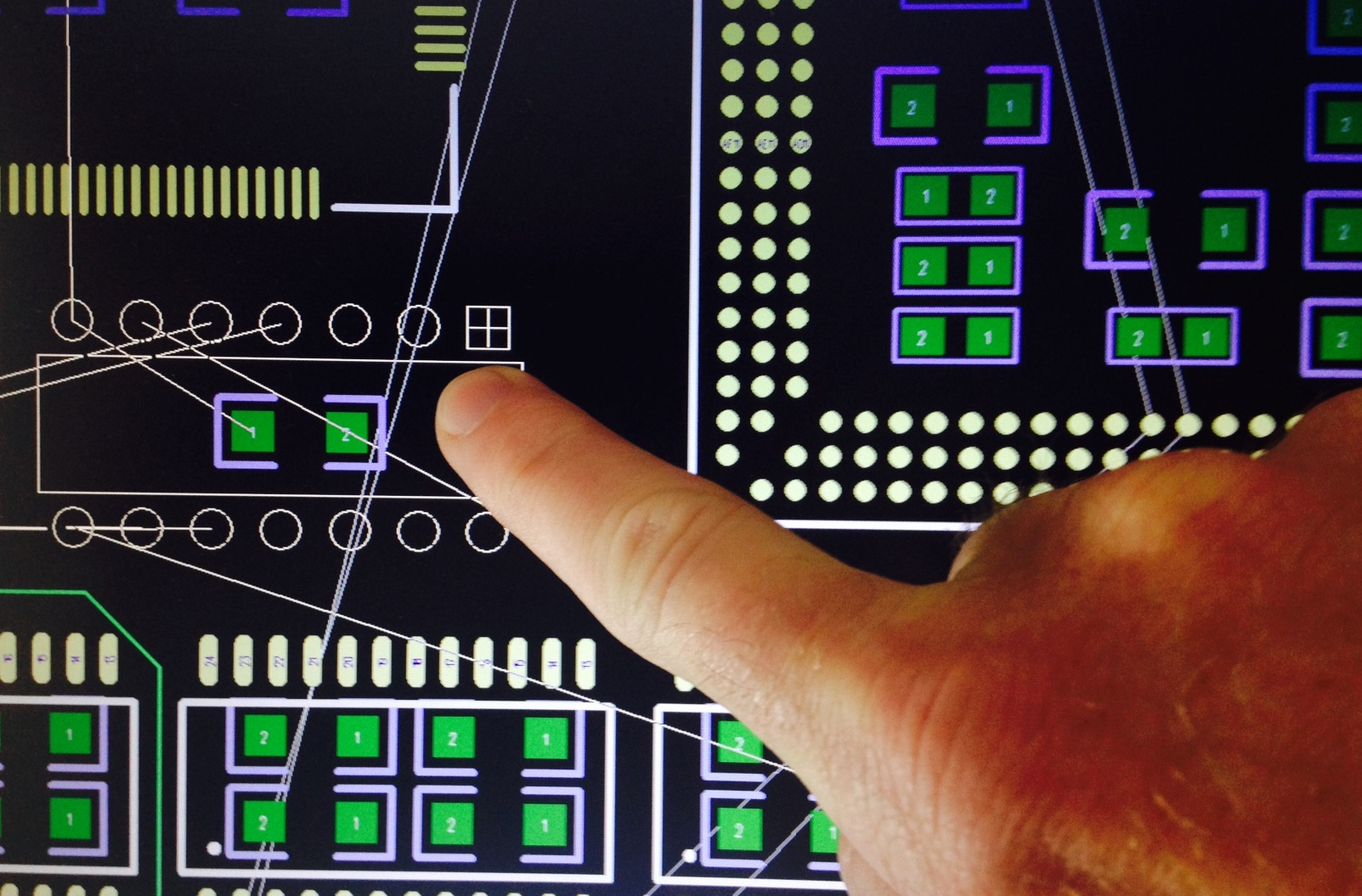 Touch Screen Use In Pcb Design Pads Desktop Altium Training Programs Designer Introduction Designing Pcbs Touchscreen 1
