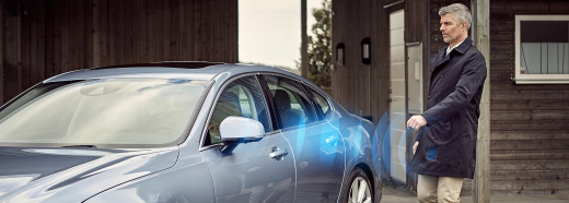 Volvo On Call. Phone as key