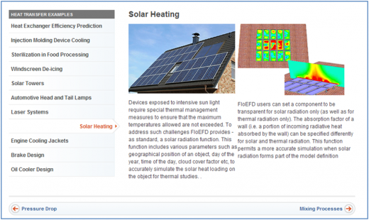 Solar Heating in FloEFD Concurrent CFD