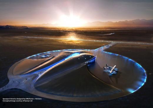 Spaceport America concept image