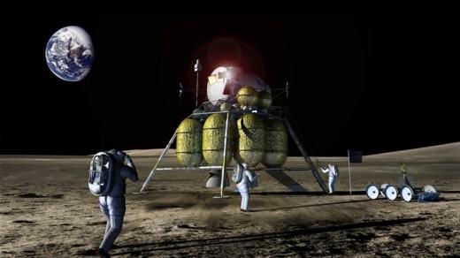 Artist rendering of the Constellation Main Lander