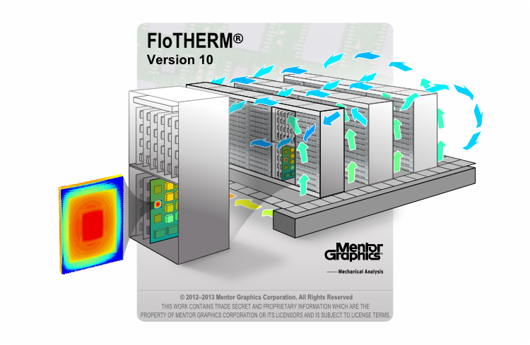 Top 10 Flotherm V10 Features 9 Data Center Simulation