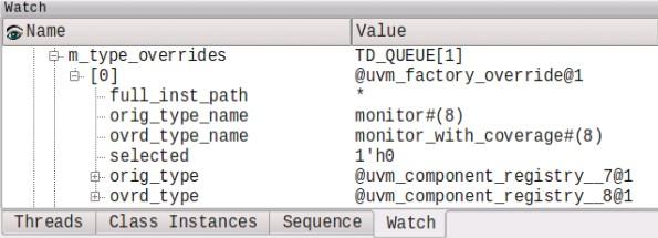 UVM Factory Type Override Structure