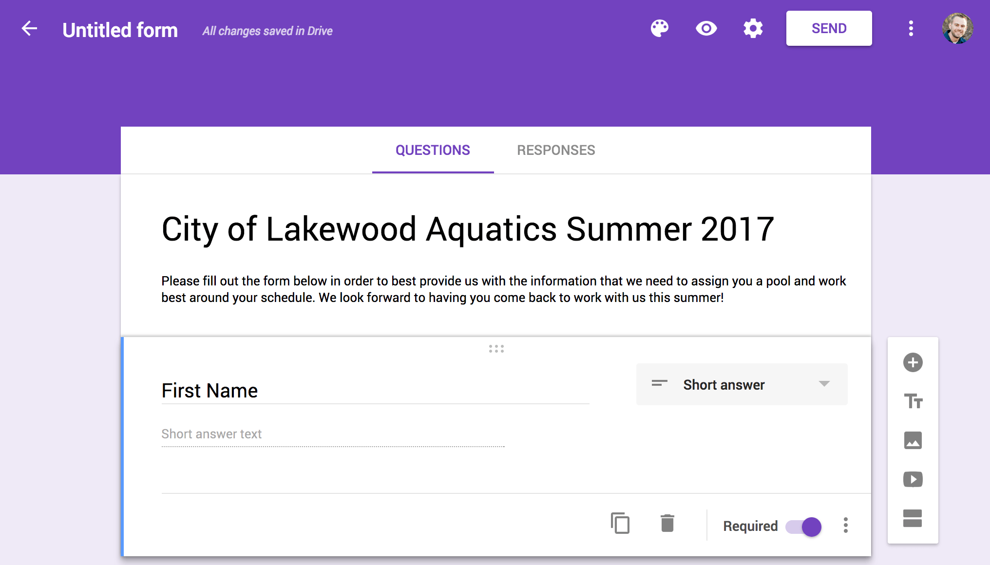 how to do summer letters in the time digiquatics blog to add another question to your google form just click the button the right side of your current question to add another hint if you want to force