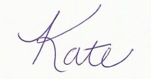 Kate L Williams Signature