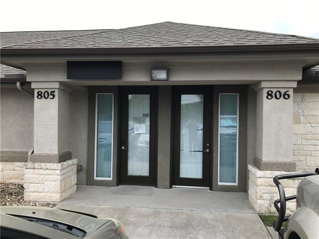 Office Condo in highly desirable area easily accessible from major thoroughfares. 2 total units available (#805 & #806) that can be leased together or individually. Each unit consists of 4 private offices/conference room, ADA bathroom, a reception area & kitchen/break room with a sink. Common parking spaces. Can be leased from 12 months to 60 months. Professional or Medical use allowed. Rent includes Water, Trash & Sewer Charges. Please call agent before showing.