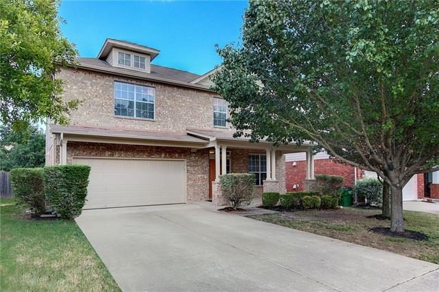Come and see this beautiful 2-story home in the established Cat Hollow Community. Brand new interior paint, brand new carpet, brand new laminate flooring, brand new refrigerator, microwave, stovetop, and dishwasher in kitchen. Kitchen opens to family room downstairs, huge second living upstairs. Exceptional Round Rock Schools, close to grocery, shopping, & employment, and easy access to toll road. Great for entertaining or just your own piece of serenity.