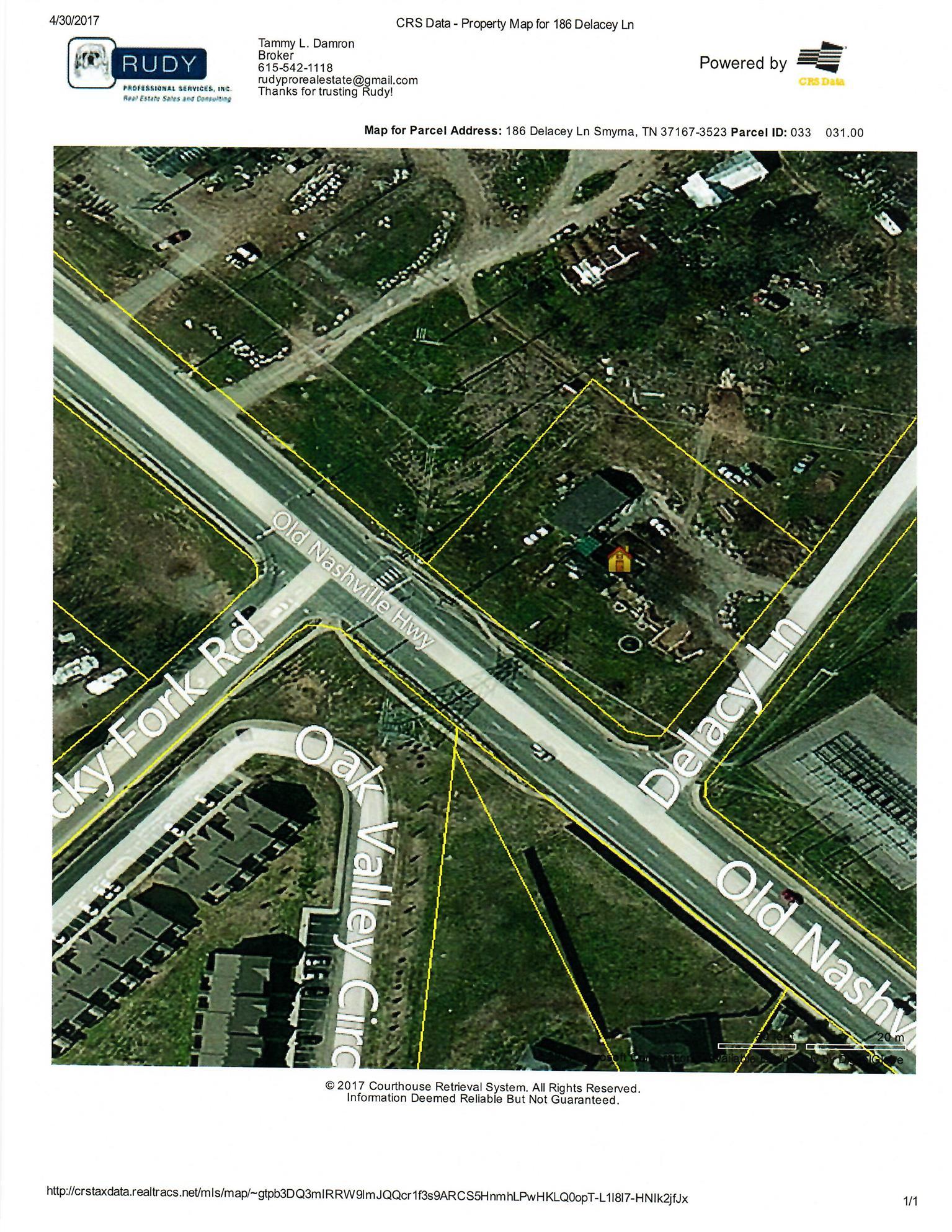 Nashville Tn Traffic Map.186 Delacey Ln