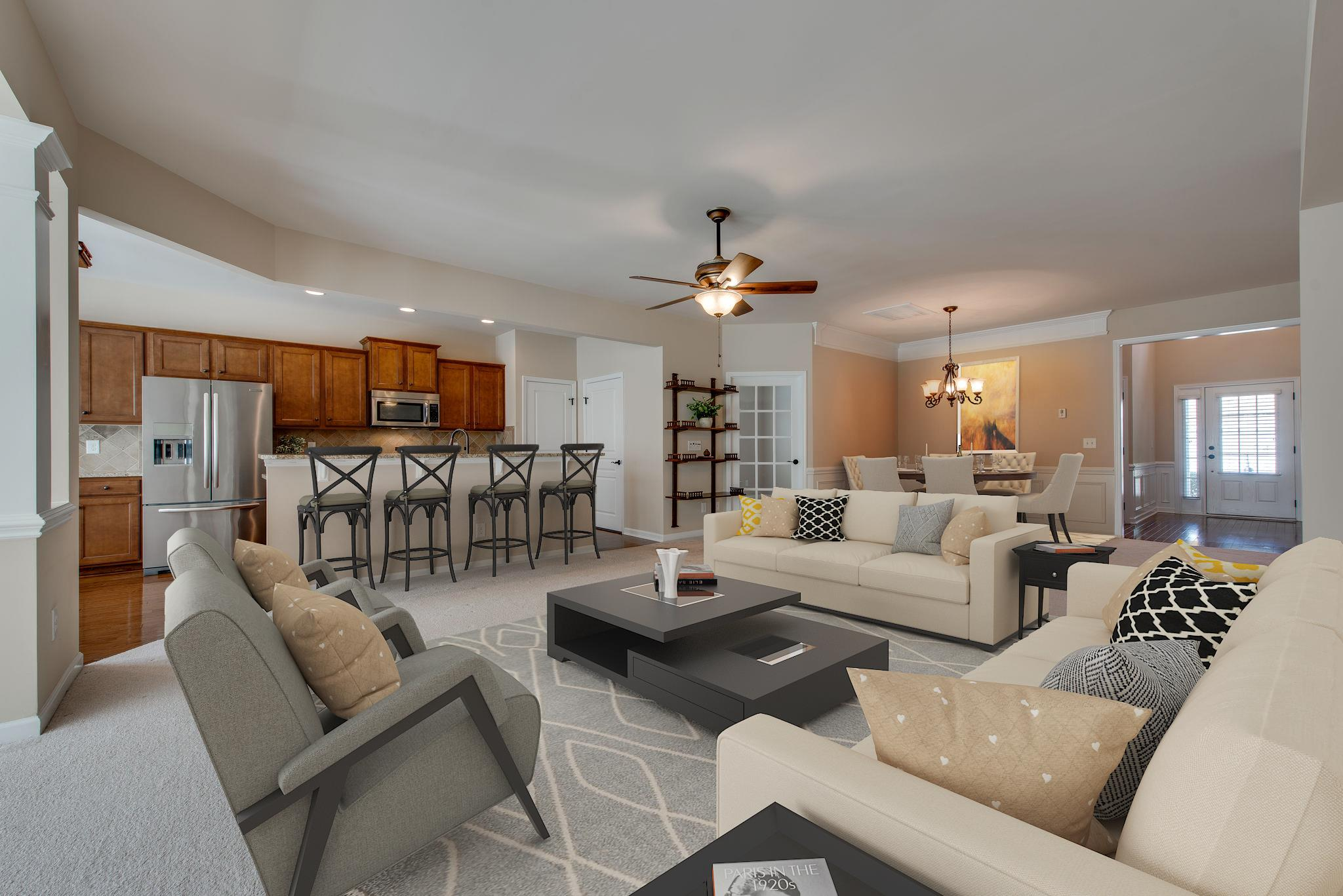 """The highly desirable """"Vernon Hill""""  floorplan located in Del Webb...the hottest active 55+ community in the Greater Nashville area! This is not just a wonderful high-end home, it's a lifestyle! Fun activities, friendly people, beautiful surroundings and so many opportunities to stay healthy and fit!!"""