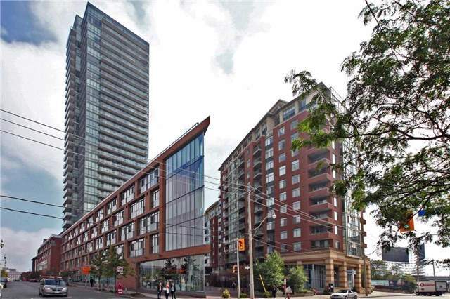 Pure Spirit Condos! If Your're Looking For A Stunning Urban City View, This Is It! Well Laid Out One Bedroom Plus Den Suite With Parking And Locker And An Awesome View For Miles. It's Gorgeous! In The Heart Of Historical Distillery District, Steps To Theatre, Restos, Park, Transit, The Lake & Beach, Shopping & Lcbo On Queens Quay Or The Market. You Can't Ask For More!