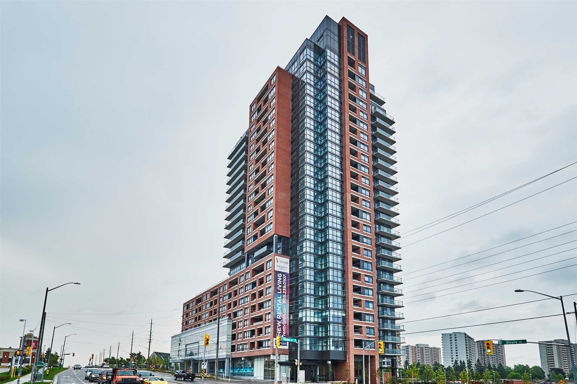 Brand New Contemporary Style Building. This Fabulous Corner Unit Suite Offers Approx 928 Sq Ft Of Living Space And Features An Open Concept Floor Plan With Floor To Ceiling Windows Throughout Providing Plenty Of Natural Light.  Customized Flooring And Modern Kitchen. Balcony With West Exposure. Minutes From The Go Station And Hwy 401. Just Move In And Enjoy!